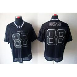 competitive price 477da cda1f [Lights-Out]Dez Bryant Football Jersey -Dallas #88 Black Jersey