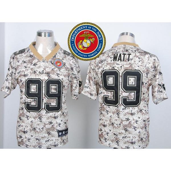brand new 90547 56d9c Houston #99 J.J Watt Desert Digital Camo football jersey on sale