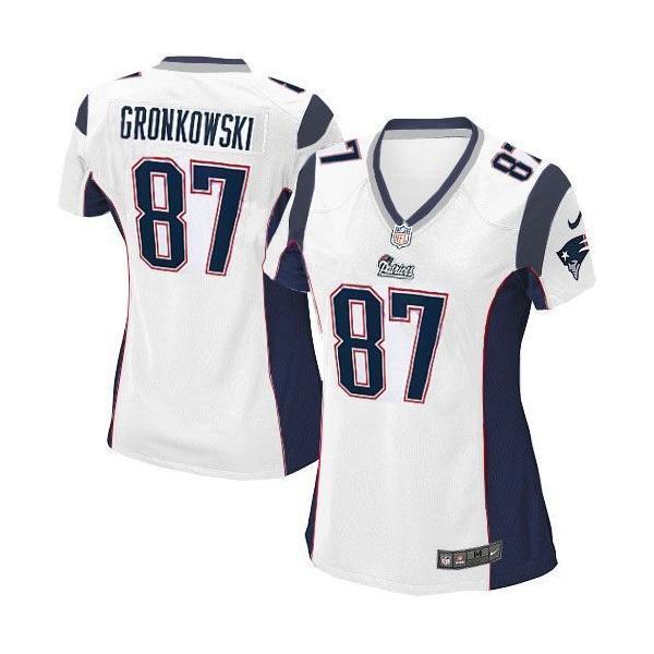 super popular 98f48 e5bc4 New England #87 Rob Gronkowski womens jersey Free shipping