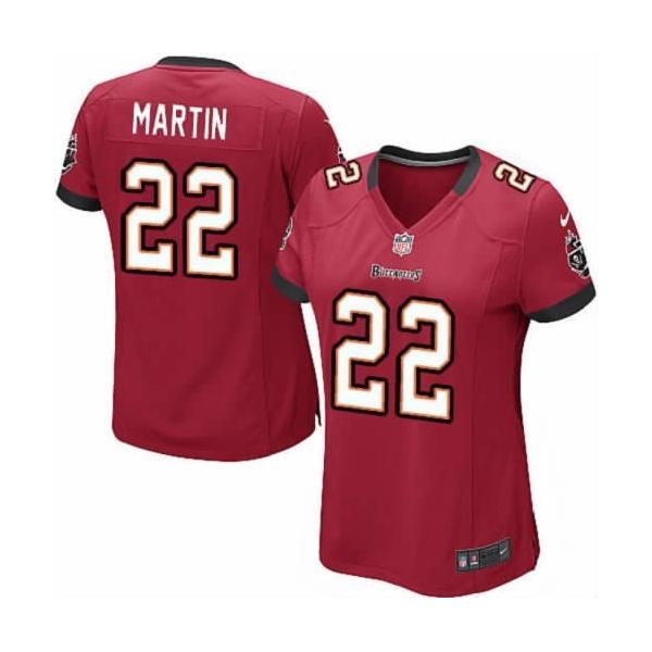 the latest 61477 9593b Tampa Bay #22 Doug Martin womens jersey Free shipping