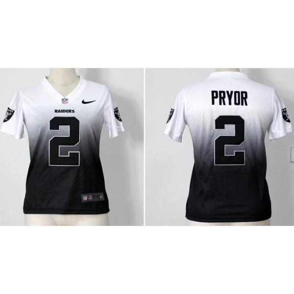 [Drift Fashion]Oakland #2 Terrelle Pryor womens jersey Free shipping