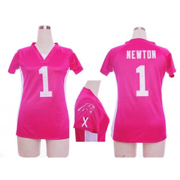 Fashion I  NEWTON Carolina  1 Womens Football Jersey - Cam Newton Womens  Football 5a2997dd5e