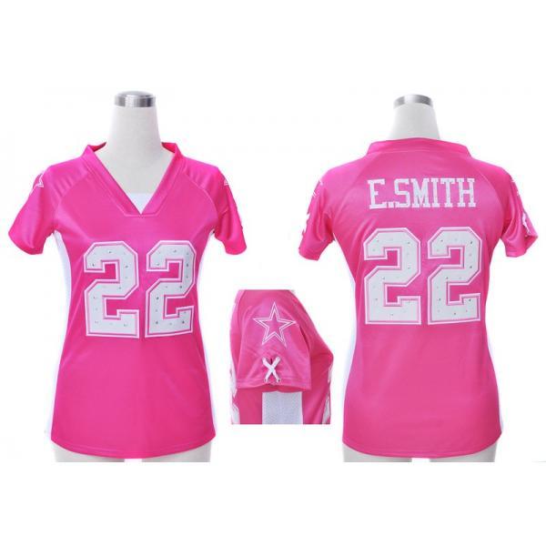 sports shoes 2c32c 24f0a [Fashion I]Dallas #22 Emmitt Smith womens jersey Free shipping