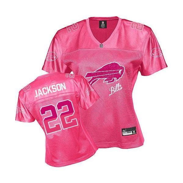 FEM FAN I  JACKSON Buffalo  22 Womens Football Jersey - Fred Jackson Womens b1872b998