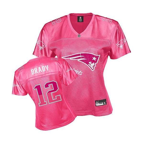 brand new 3eed3 40970 [FEM FAN I]New England #12 Tom Brady womens jersey Free shipping