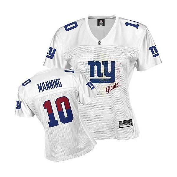 26daac9e [FEM FAN I]NY-Giant #10 Eli Manning womens jersey Free shipping