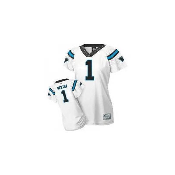 big sale e7f6e 3aca9 [Field Flirt Fashion I]Carolina #1 Cam Newton womens jersey Free shipping