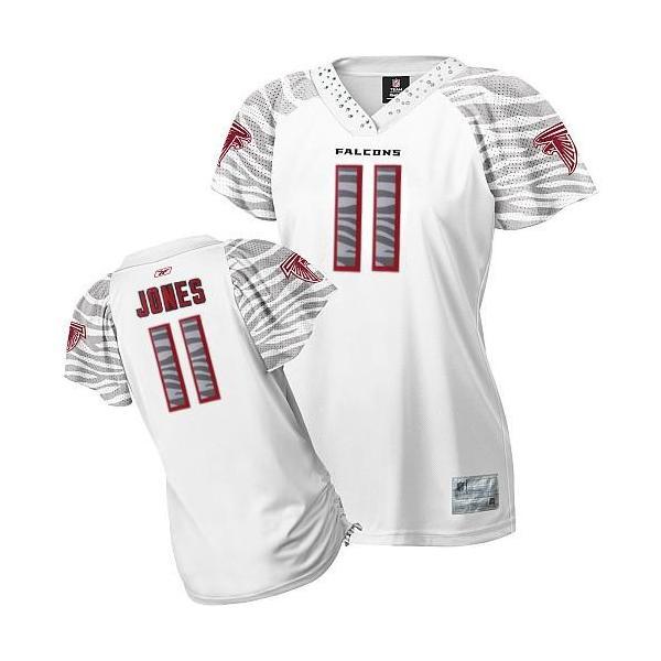 another chance 8b903 f5834 [Zebra Field Flirt]Atlanta #11 Julio Jones womens jersey Free shipping