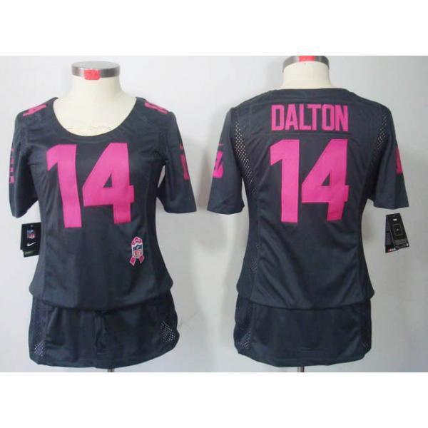 [BCA DRESS]Cincinnati #14 Andy Dalton womens jersey Free ...