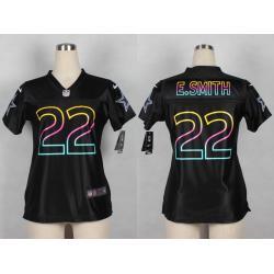 the best attitude dded0 85fd1 [Black Fashion] SMITH Dallas #22 Womens Football Jersey - Emmitt Smith  Womens Football Jersey_Free Shipping