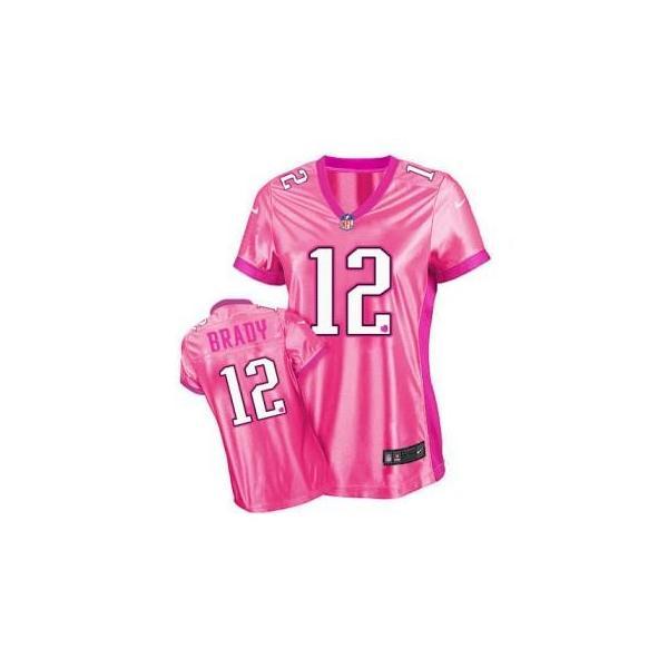 info for 91161 4aab4 [Love pink III]New England #12 Tom Brady womens jersey Free shipping