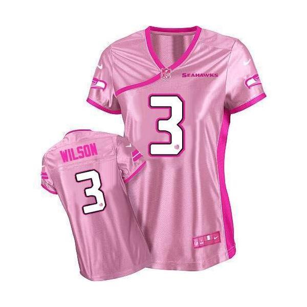 d64e791ef ... aliexpress love pink wilson seattle 3 womens football jersey russell  wilson womens football 71bee 7af22
