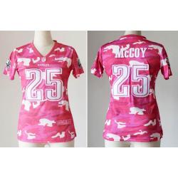 newest 68211 b8da6 [Pink Camo] MCCOY Philadelphia #25 Womens Football Jersey - Lesean McCoy  Womens Football Jersey_Free Shipping