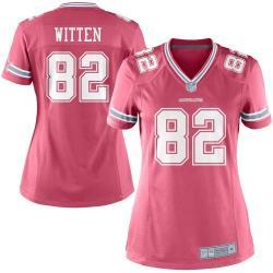 uk availability a32d8 44018 [Pink Game] WITTEN Dallas #82 Womens Football Jersey - Jason Witten Womens  Football Jersey (Pink)_Free Shipping