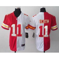 Split]KC #11 Alex Smith womens jersey Free shipping