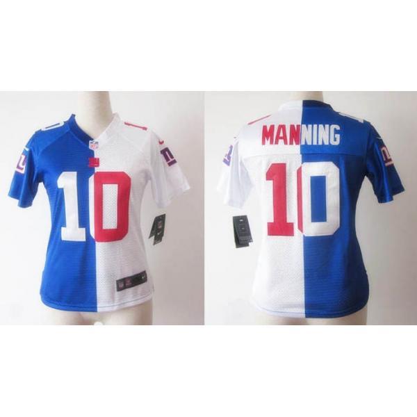 f9d6b743 [Split]NY-Giant #10 Eli Manning womens jersey Free shipping