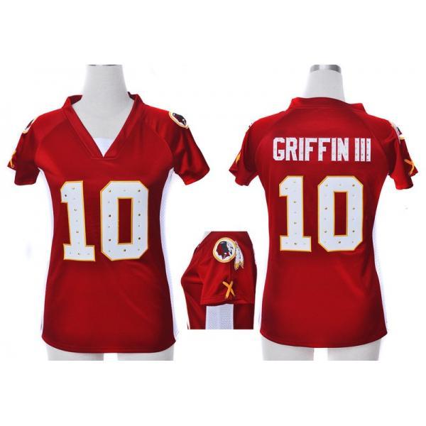 size 40 6a3a9 ee3aa [Fashion I]Washington #10 Robert Griffin III/RG3 womens jersey Free shipping