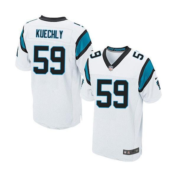 322eed6c0cd ... shopping elite luke kuechly football jersey carolina 59 football  jerseywhite d2701 e4cd9