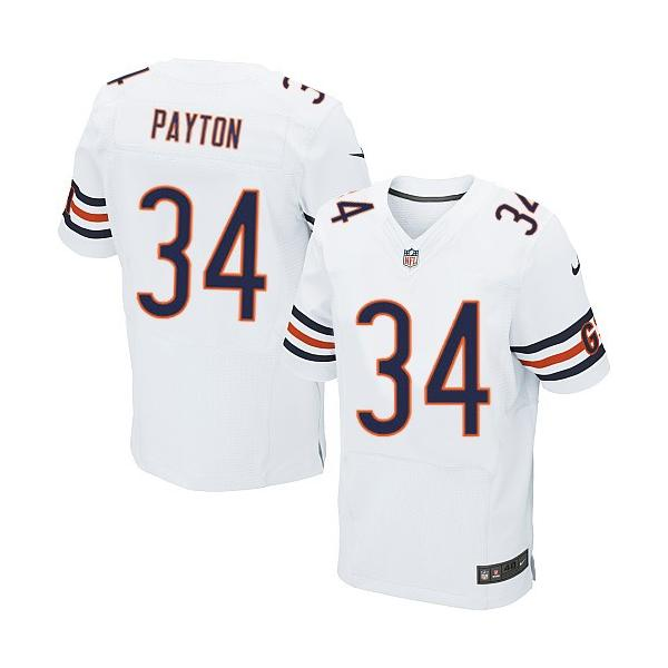 895a2611f  Elite  Walter Payton Football Jersey -Chicago  34 Football Jersey(White)