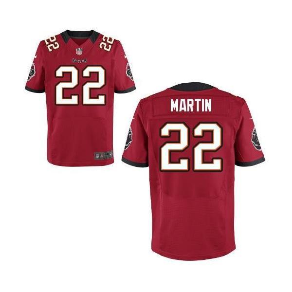 big sale 510bf e8904 [Elite] Doug Martin Football Jersey -Tampa Bay #22 Jersey(Red)