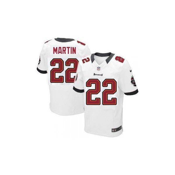 premium selection d26e4 3a597 [Elite] Doug Martin Football Jersey -Tampa Bay #22 Jersey(White)