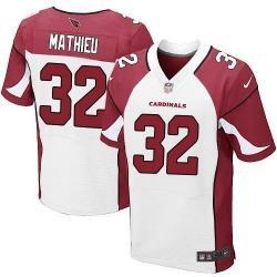 promo code bb8b1 6ffb6 [Elite] Mathieu Arizona Football Team Jersey -Arizona #32 Tyrann Mathieu  Jersey (White)