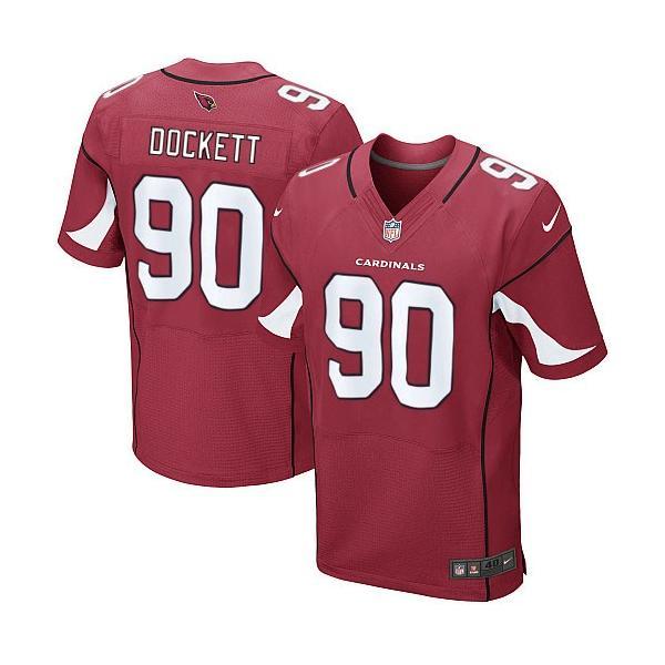 [Elite]Darnell Dockett Arizona Football Team Jersey(Red)_Free ...
