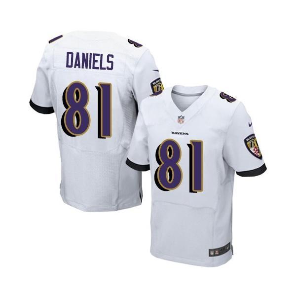 [Elite]Owen Daniels Baltimore Football Team Jersey(White)_Free ...