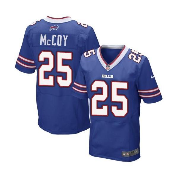 [Elite]LeSean McCoy Buffalo Football Team Jersey(Blue)_Free ...