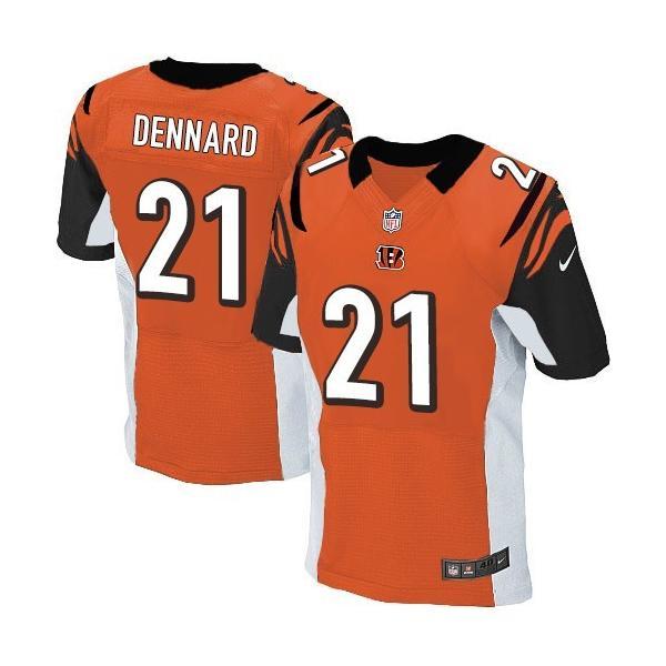 [Elite]Darqueze Dennard Cincinnati Football Team Jersey(Orange)_ ...