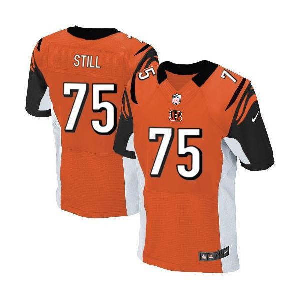 [Elite]Devon Still Cincinnati Football Team Jersey(Orange)_Free ...