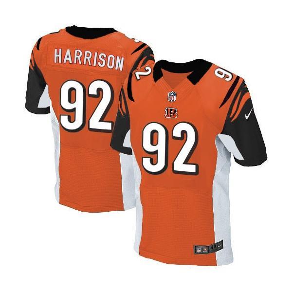low priced f82b2 dc9cd [Elite]James Harrison Cincinnati Football Team Jersey(Orange)_Free Shipping