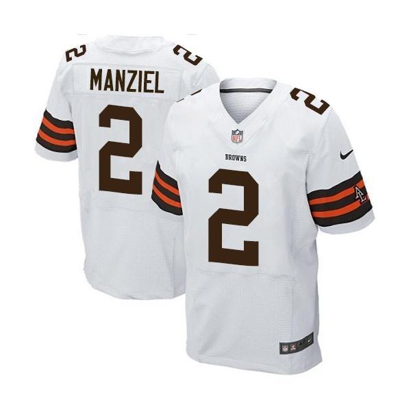 9c308d6fb03 [Elite] Manziel Cleveland Football Team Jersey -Cleveland #2 Johnny Manziel  Jersey (