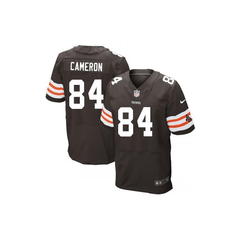 [Elite]Jordan Cameron Cleveland Football Team Jersey(Brown)_ ...