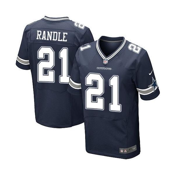 [Elite]Joseph Randle Dallas Football Team Jersey(Blue)_Free ...