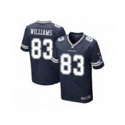 low priced b5016 a052d [Elite] Williams Dallas Football Team Jersey -Dallas #83 Terrance Williams  Jersey (Blue)