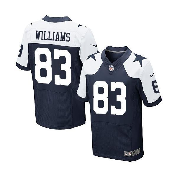 [Elite]Terrance Williams Dallas Football Team Jersey(Blue ...