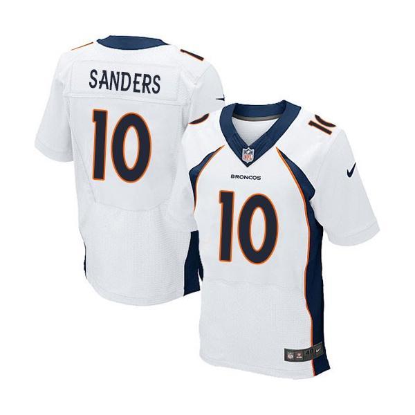 low priced 5261f 479e8 [Elite]Emmanuel Sanders Denver Football Team Jersey(White)_Free Shipping