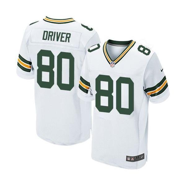 [Elite]Donald Driver Green Bay Football Team Jersey(White)_Free ...