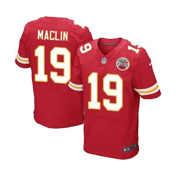 [Elite]Jeremy Maclin Kansas City Football Team Jersey(Red)_Free ...