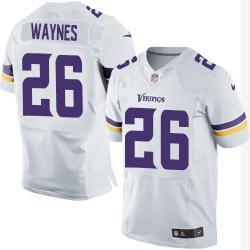 best service 32be6 28dbc [Elite] Waynes Minnesota Football Team Jersey -Minnesota #26 Trae Waynes  Jersey (White, 2015 new)